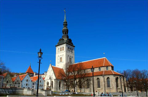 St. Nicholas Church (Niguliste) in Tallin